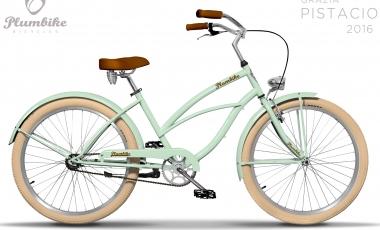 Bicicleta paseo Grazia PISTACIO - 3 Velocidades