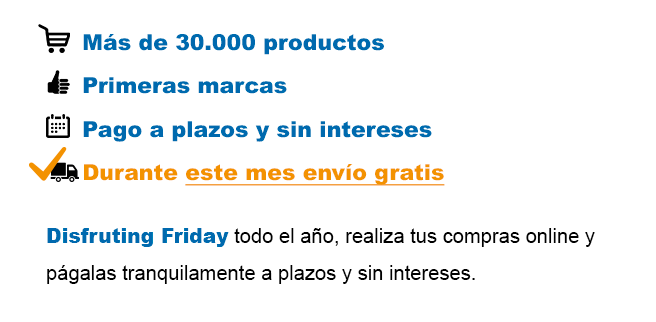 30000 productos a plazos y sin intereses