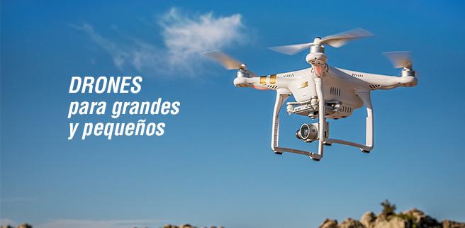 Ver todos los drones de la casa juguetrónica