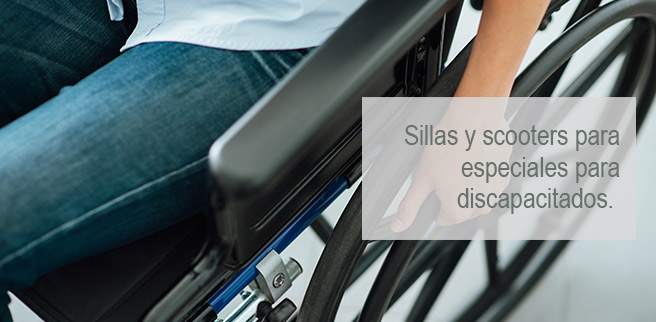 Vehículos de mobilidad reducida, sillas de ruedas