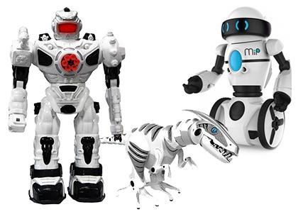 Todos los robots de última generación de juguetrónica en disfruting