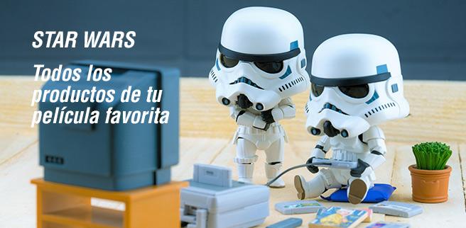 Artículos de Star Wars de Juguetrónica