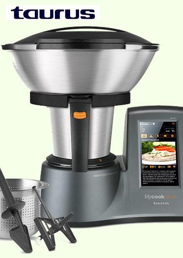Robor de cocina Taurus My Cook con pantalla táctil