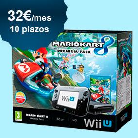 Nintendo Wii U + Mario Kart a plazos