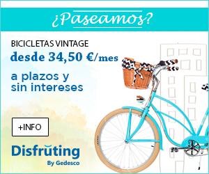 Bicicletas de paseo a plazos y sin intereses