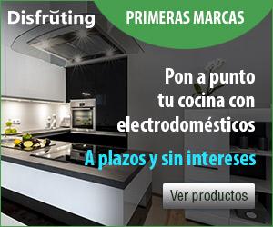 Electrodomésticos a plazos y sin intereses