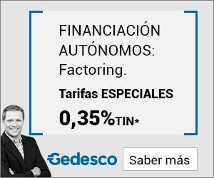 Factoring Gedesco para Autónomos