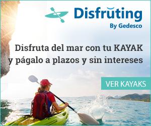 Kayak a plazos