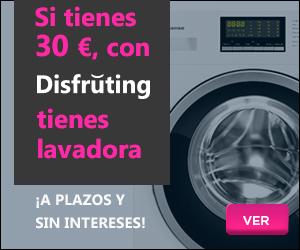 lavadoras a plazos y sin intereses