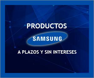 Productos Samsung a plazos