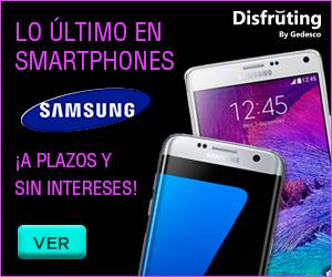 Smartphones Samsung a plazos y sin intereses