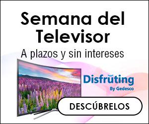 Semana del televisor a plazos y sin intereses