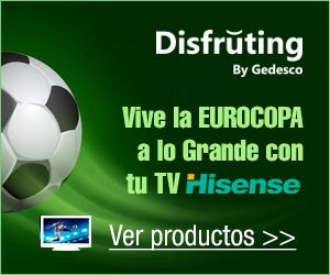 Vive la Eurocopa con tu Hisense a plazos y sin intereses